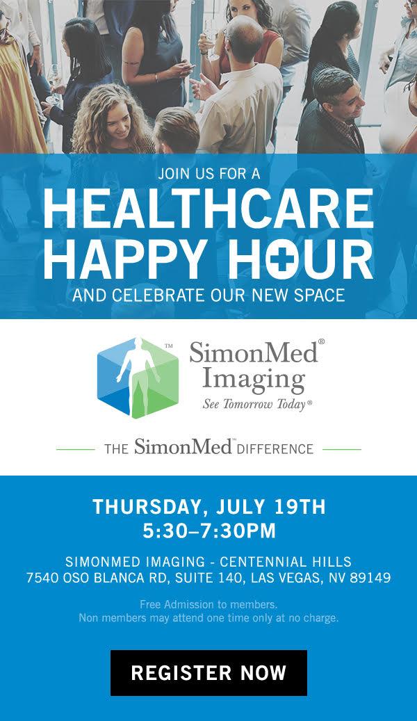 Las Vegas HEALS Healthcare Happy Hour July 2018
