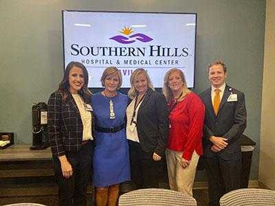 Congresswoman Susie Lee visits residents and hosts community discussion on mental health