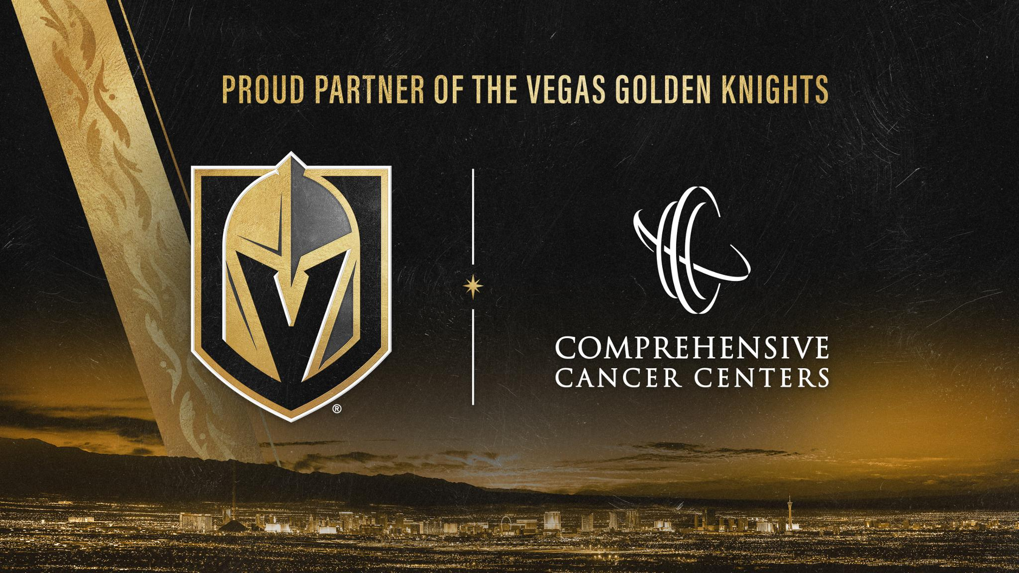 VGK Announce Partnership With Comprehensive Cancer Centers Of Nevada